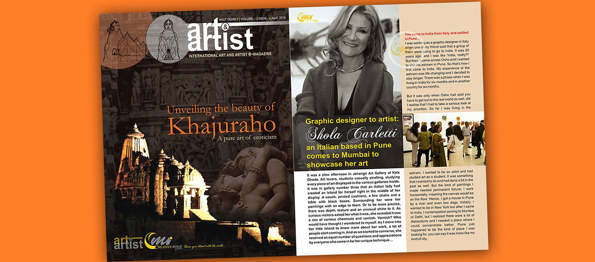 In Magazine, Art & Artist